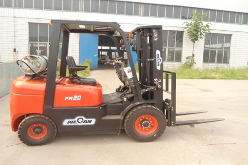 FR Series 2.0-2.5tons LPG and Gasoline Forklift Truck